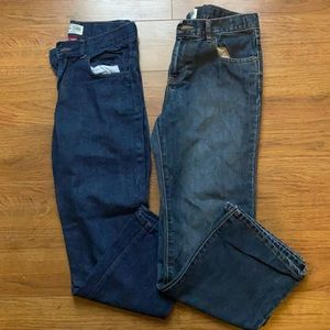 Boys size 10 the children's place denim jeans for boys pants loose ample boot